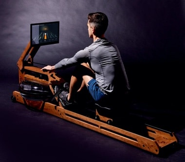 features overview of the ergatta rower