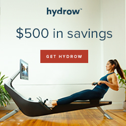 Hydrow holiday sale